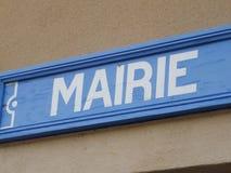 Mairie Foto de archivo libre de regalías