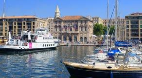 Mairie de Marseille Stock Photos