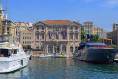 Mairie de Marsiglia Immagine Stock Libera da Diritti