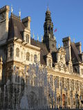 Mairie de Paris Images libres de droits