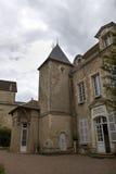 Mairie der Stadt nahe Basilique von St. Mary Magdalene in Vezelay-Abtei Burgunder, Frankreich Stockfotografie