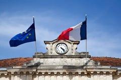 Mairie Le Bouscat, Bordeaux Fotografia Stock Libera da Diritti