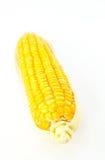 Mais auf weißem Hintergrund Lizenzfreie Stockbilder
