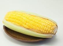 Mais auf weißem Hintergrund Lizenzfreie Stockfotografie