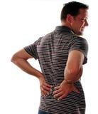 Mais baixa dor traseira Foto de Stock