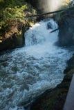 Mais baixas quedas de Tumwater Imagem de Stock Royalty Free