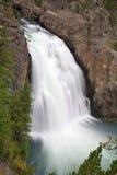 Mais baixas quedas de Yellowstone Foto de Stock