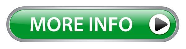 Mais botão da informação ilustração royalty free
