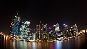 Mais da skyline de singapore Foto de Stock Royalty Free