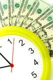 Mais dinheiro mais tempo Fotos de Stock Royalty Free