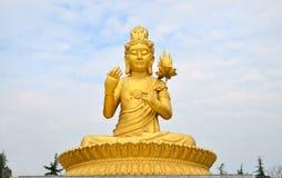 Mais do que aproximadamente 1700 anos há, templo dos famen de China xian de Buddh Foto de Stock