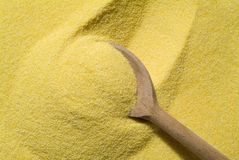 Mais flour Stock Images