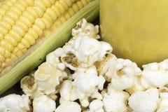 Mais und Produkte Lizenzfreie Stockbilder