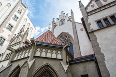 Maisel synagoga w Praga, republika czech obrazy royalty free