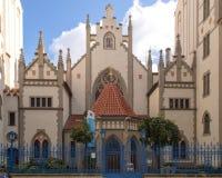 Maiselsynagoge, historisch monument van het vroegere Joodse Kwart van Praag royalty-vrije stock afbeeldingen