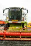 Maiserntemaschine Tyumen Russland Stockfotografie