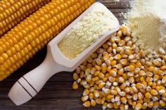 Maismehl de maïs Photographie stock libre de droits