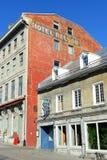Maison卡地亚,魁北克,加拿大 免版税库存照片