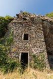 Maison在Feliceto附近的du bandit在可西嘉岛 免版税图库摄影