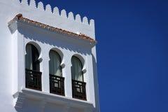 Maison à Tanger, Maroc Photographie stock