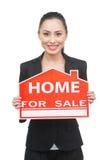 Maison à vendre. Image libre de droits