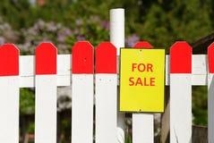 Maison à vendre Image libre de droits