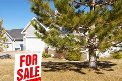 Maison à vendre Photos stock