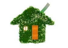 Maison écologique verte Photographie stock libre de droits