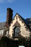 Maison élégante de brique photos stock