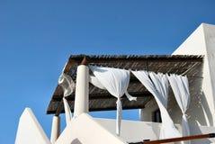 Maison éolienne dans Stromboli Photographie stock