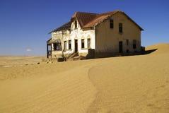 Maison 1 de Kolmanskop photos libres de droits