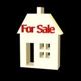 maison 3D à vendre Images stock