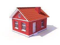 maison 3d illustration de vecteur