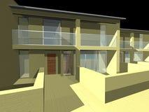 maison 3D Photo stock