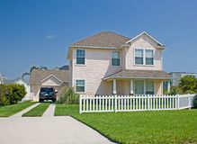 Maison 4 de type de maison de la Floride Image libre de droits