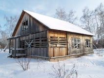 Maison abandonnée Image stock