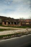 Maison abandonnée Photo stock