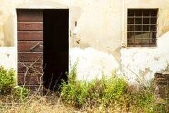 Maison abandonnée Photos stock
