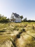 Maison abandonnée. image stock