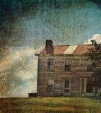 maison abandonnée illustration libre de droits