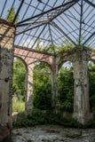 Maison abandonnée dans Beocin Photos libres de droits