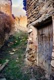 Maison abandonnée dans les ruines Photographie stock libre de droits
