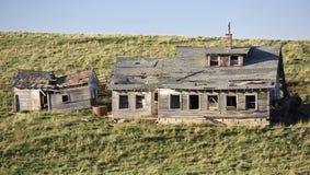 Maison abandonnée de ferme Photographie stock libre de droits