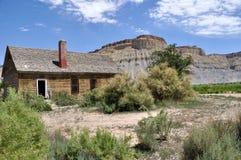 maison abandonnée de ferme Photo libre de droits