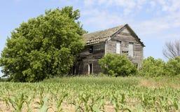 Maison abandonnée de ferme Images stock