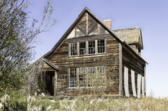 Maison abandonnée de ferme Photographie stock