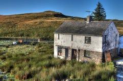 Maison abandonnée de ferme Image stock