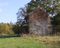 Maison abandonnée de ferme du Maryland Photo libre de droits