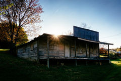 Maison abandonnée en vallée de Shenandoah, la Virginie Photo stock