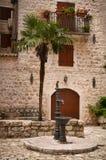 Maison adriatique traditionnelle image stock